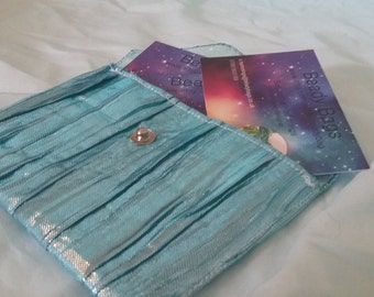 Mermaid blue Card Purse