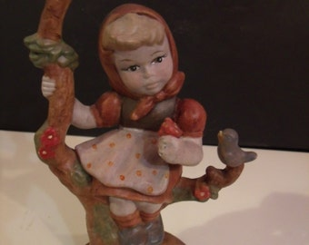 Vintage Girl Figurine