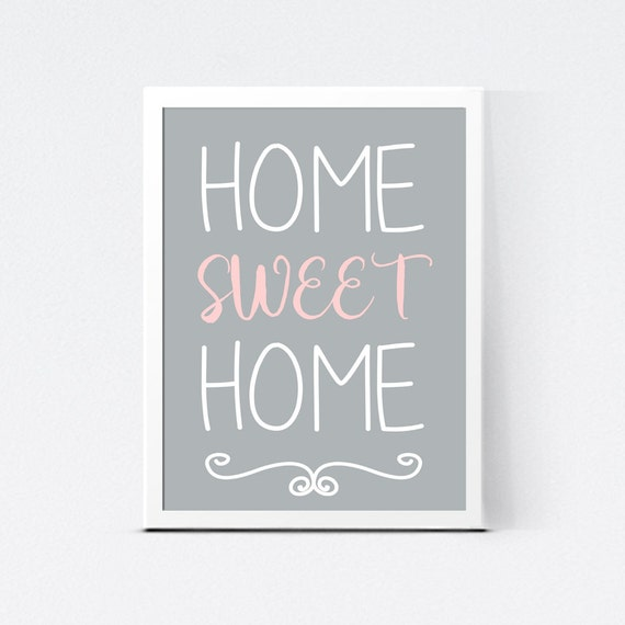Eloquent image throughout home sweet home printable
