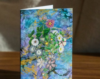 Floral Card 1