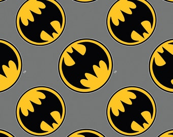 Batman Flannel Fabric
