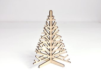 Mini Christmas Tree   Wooden Christmas Tree   Standing Christmas Tree    Tabletop Christmas Tree