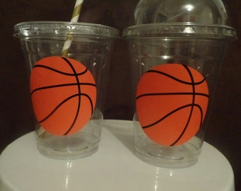 Basketball Favor/ Party Cups