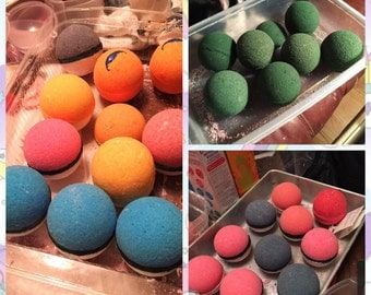 12 pack of custom Bath Bombs