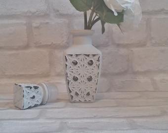 Grey decanter vase
