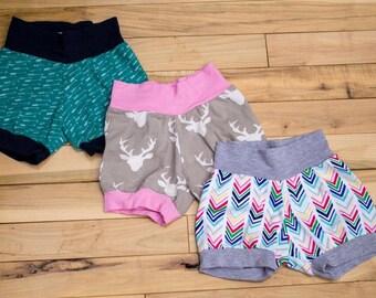 Cuff Shorts-- Mix and match!