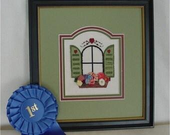 554 Window Box Punch Needle Art Digital