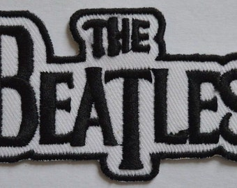 117 The Beatles Rockability  Music band embroidered iron on sew on patch