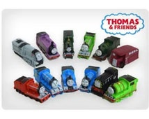 Mister A Gift Thomas and Friends inc Rosie set of 12 Plastic Cake toppers