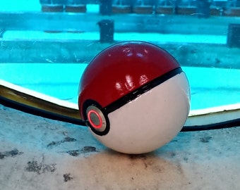 3D Printed Pokeball with LED lit Button