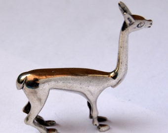 Ancient figure called Guanaco 925 Silver collection