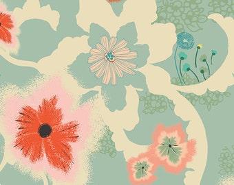 Dreamscape Moon, Rapture Collection, Floral Fabric, Art Gallery Fabrics, Pat Bravo, RPT-2700