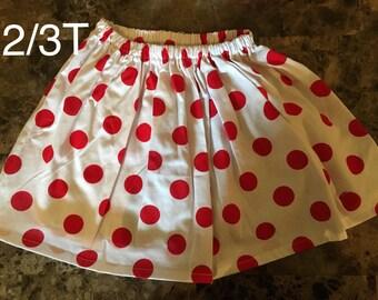 Cute printed skirts