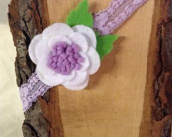 White Poppy Headband