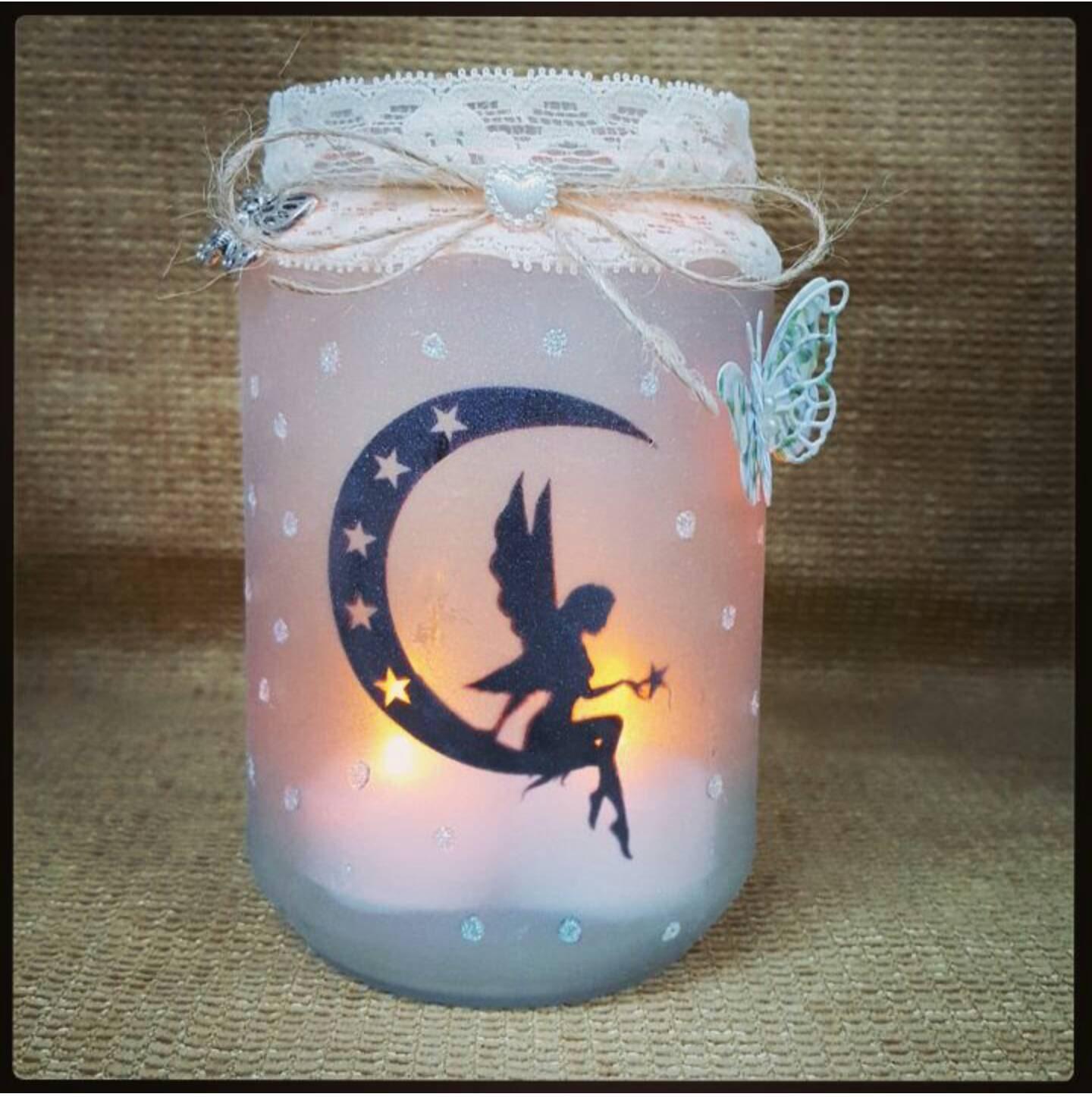 Fairy Glass Jar