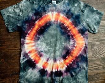 Cirle of Fire Tie Dye Shirt