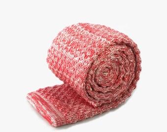 Handmade Knit Skinny Tie