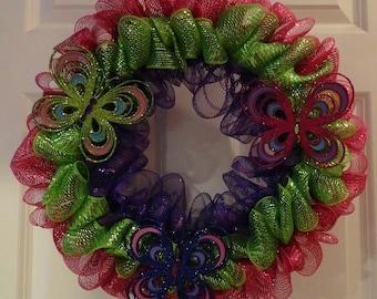 Clearance - Spring Wreath
