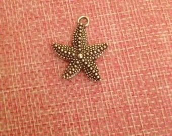 5 large Starfish pendant