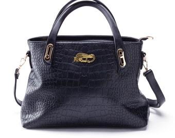 Iramdesigns Soraya short handles medium tote Handbag, tote bag, leather handbag, leather shopper tote, leather cross-body bag, computer bag