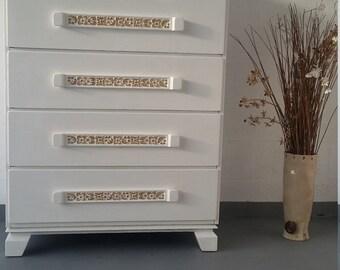J.B. Van Sciver 5 Drawers Chest, Vintage Dresser