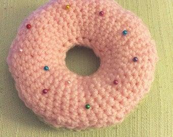 Crochet Pincushion Donut