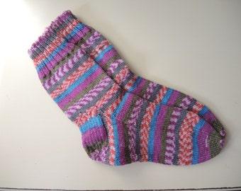 Women's Socks, Wool Socks, Knit Socks, Medium,