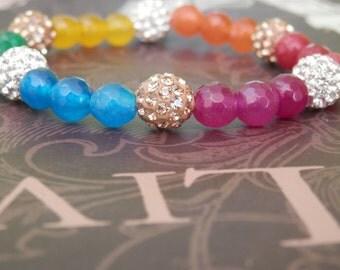 gay pride bracelet-gay pride jewelry-gay pride flag-lgbt bracelet-rainbow bracelet-gay bracelet