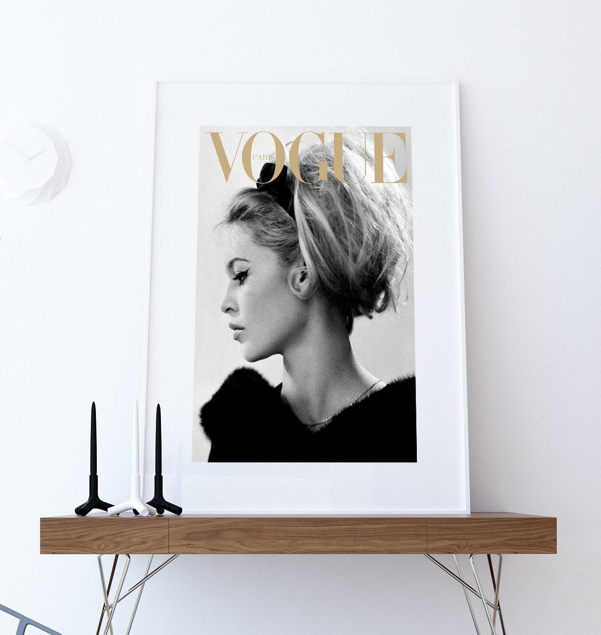 Fashion Poster Fashion Cover Brigitte Bardot Poster Fashion