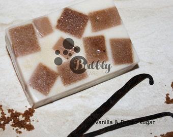 Vanilla & Brown sugar Handmade Soap