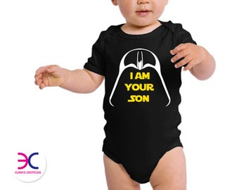 I Am Your Son Baby Onesie