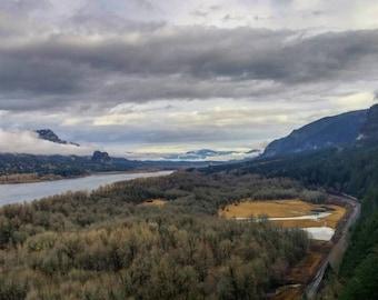 Columbia River Gorge Photo Print