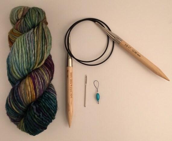 Beginner Knitting Kits Canada : Cowl knitting kit advanced beginner