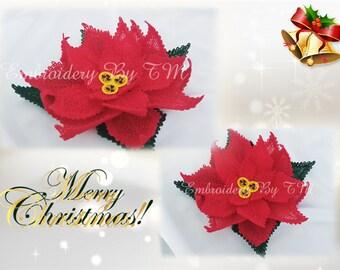 Poinsettia lace-original lace design-FSL