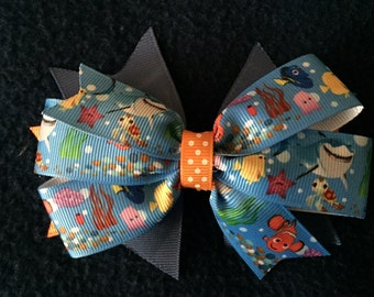 Finding Nemo Hairbow