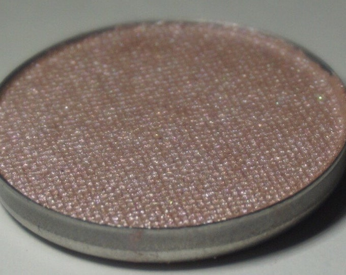 Sagittarius Pressed Eyeshadow - Semi Sheer Smokey Base with a Pinkish/Lilac Duochrome Shift