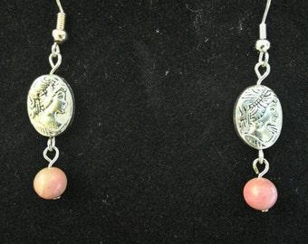 Helen of Troy Drop Earrings
