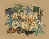 Arizona State Print