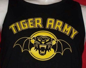 TIGER ARMY t-shirt or vest mens and womens all size xs-xxxl