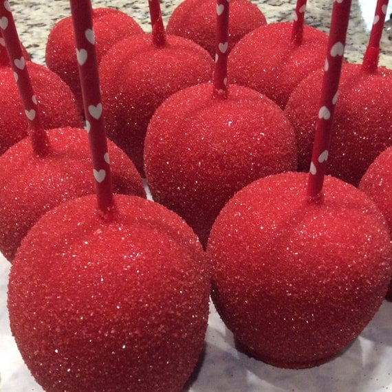 how to make cry baby candy apples