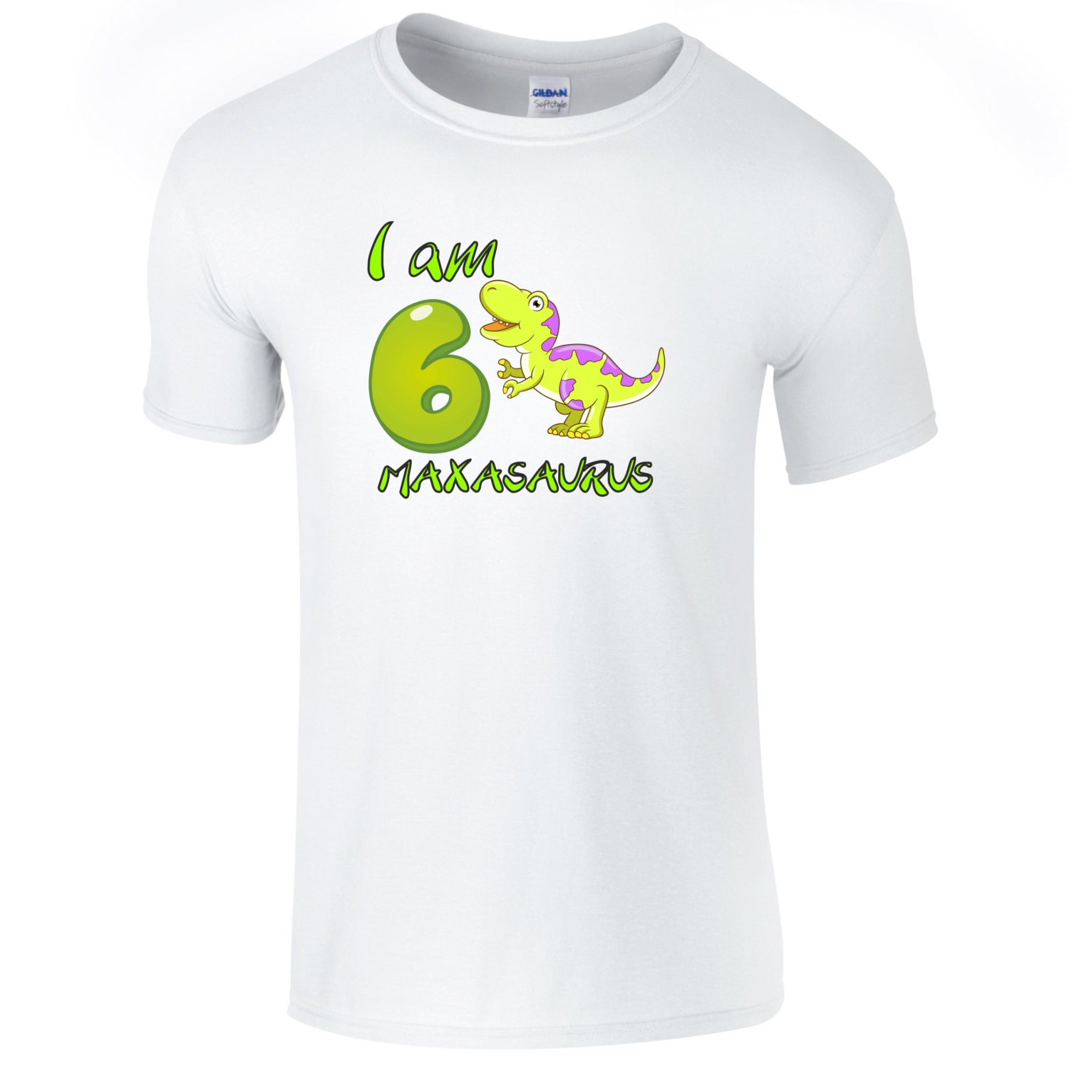 personalisierte dinosaurier geburtstag t shirt. Black Bedroom Furniture Sets. Home Design Ideas