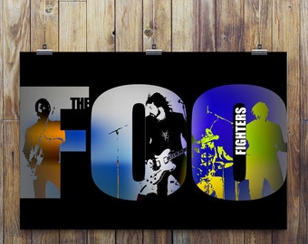 Foo Fighters tribute Poster