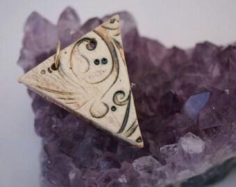 Faded Triangle Pendant