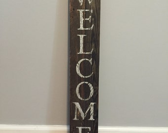 Handpainted Welcome Sign