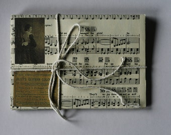 Vintage Music Sheet Envelopes