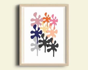 Wall art printable, printable decor, printable poster, printable wall decor, printable living room decor, instant download printable art