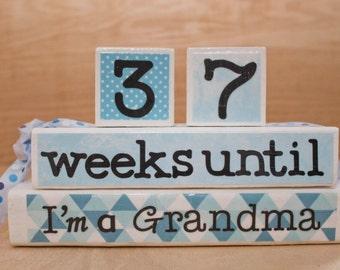 Grandma Countdown Blocks
