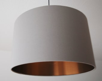 "Lampshade ""Stonegray-copper"" (grey copper)"
