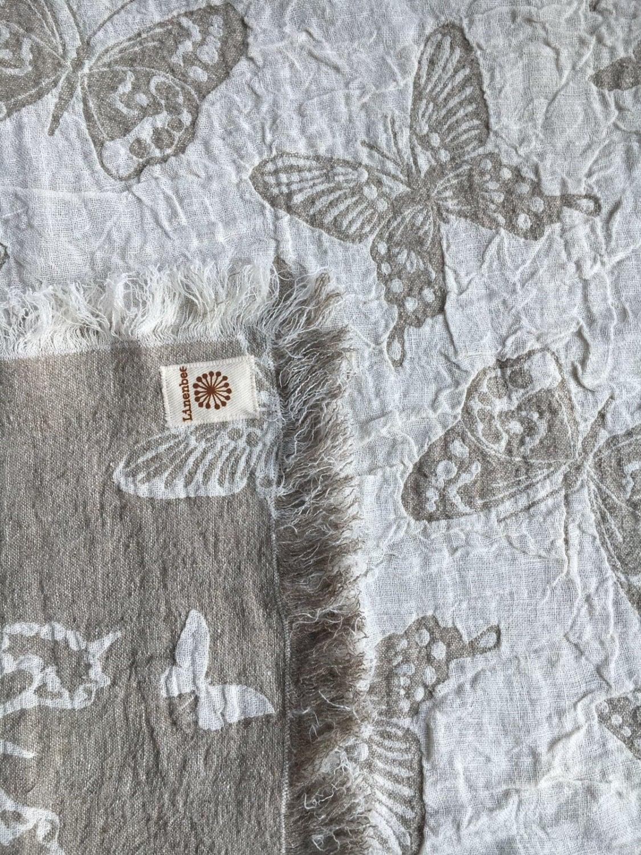 Floor Mat, Linen Rug, Duplex Linen Mat, Woven Mat, Feet Towel, Bathroom Mat,  Butterfly, Linen Mat, Bathroom Rug, Linen Bath Mat Natural Gift