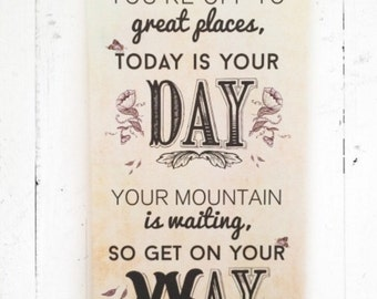 Shabby Chic Canvas with quote